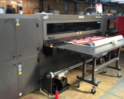 Allprint Display invested in a new EFI VUTEk H2000 hybrid printer from CMYUK in November 2015