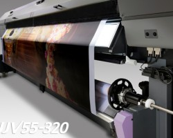 The UJV55-320 features twin roll printing capability