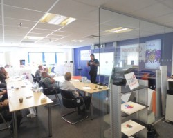 One of Antalis signmakers training course in action!