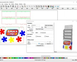 Compatible with all existing wide-format RIP software that drives flatbed printers and cutters, DisplayGenie also features a simple, yet complete toolset to enable easier display and box structure design
