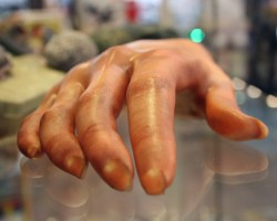 Mimaki 3D-printed hand model