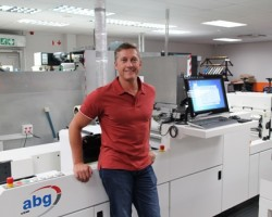 Dudley Cherry with one of the new systems in South Africa