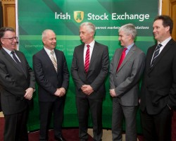 Dalata Executive Team at the launch of Dalata Hotel Group at the Irish Stock Exchange