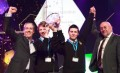 Eric Doyle & Mark Kelly from Synge Street,  'Young Scientist's of the Year