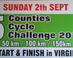 5 Counties Cycle Challenge 2012
