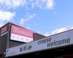 Morgan Signs is located in Cardiff