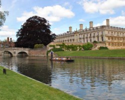 Historic Clare College, Cambridge, the venue for the IIJ label symposium that will highlight business growth opportunities