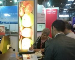 Ricoh's stand at Sign & Digital UK