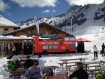 Replica 'Good Times Sound System London Bus' at the Snowbombing Festival in Mayrhofen Austria