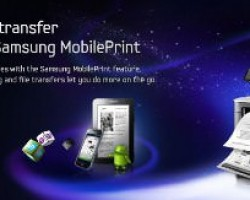 On the go with Samsung Mobile Print
