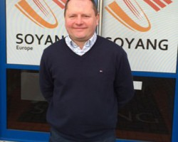 Andrew Simmons has been promoted to Sales Director at Soyang Europe