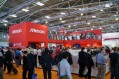 A packed Mimaki stand at FESPA Digital 2014
