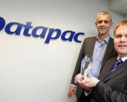 Gary Tierney, UK&I Printing Category Director, Hewlett-Packard, Patrick Kickham, Director, Datapac