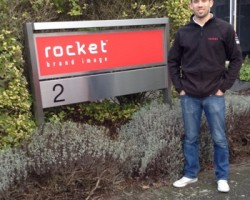 Rocket Graphics Print Manager Kevin Fiskin