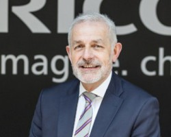 Stephen Palmer head of production print Ricoh UK and Ireland